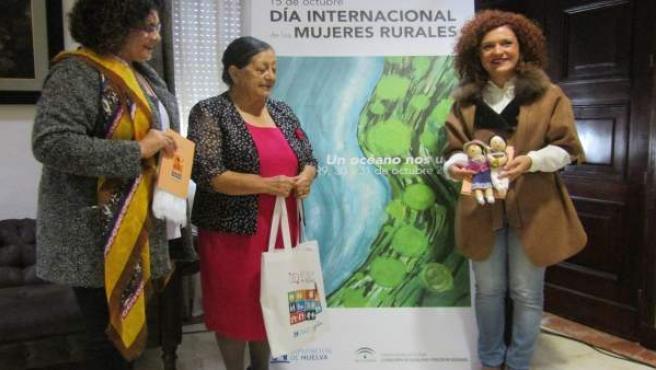 Recepción de la lideresa ecuatoriana Luz Haro.