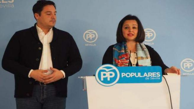 Virginia Pérez en rueda de prensa
