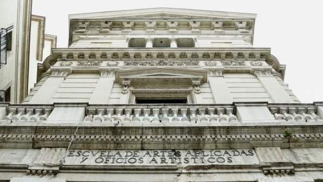 El edificio del Borsí de Barcelona.