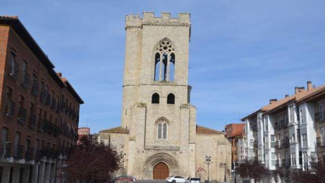 Palencia. Torre de la Iglesia de San Miguel