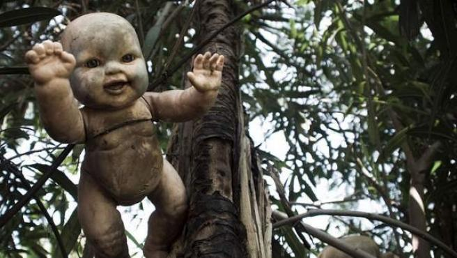 Una de las muñecas de la isla.