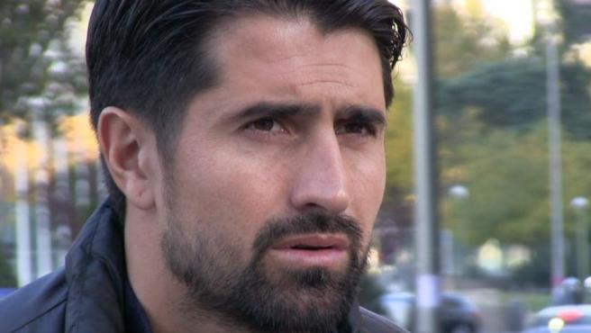 Rubén de la Red, durante la entrevista concedida a 20minutos y Sportyou.