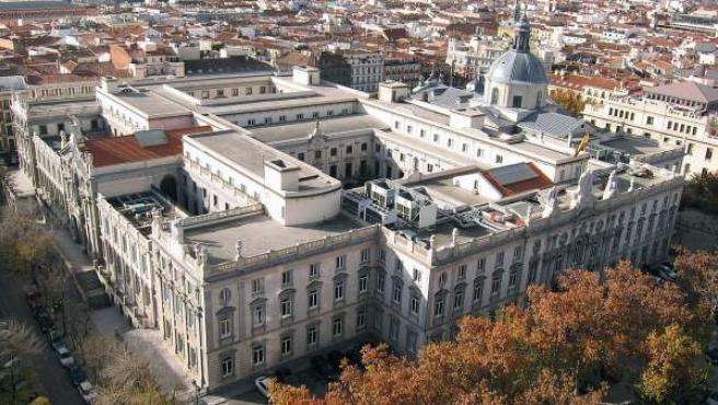 Imagen del edificio del Tribunal Supremo, en Madrid.