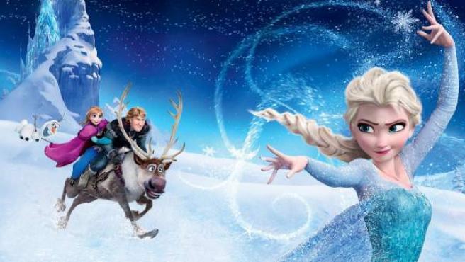 Un fotograma de la película 'Frozen', de Disney.