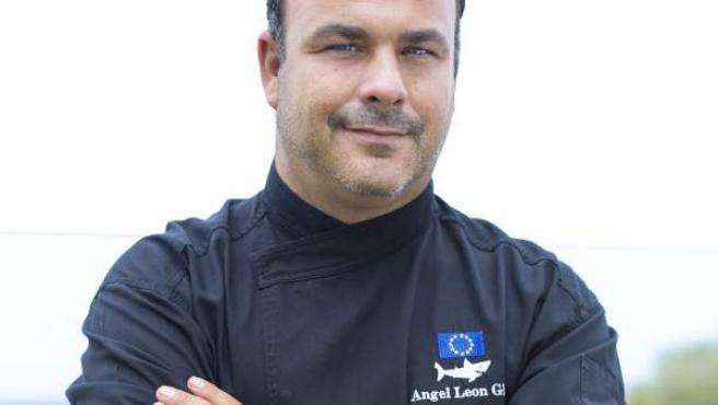 """Angel León, el cocinero gaditano conocido como el """"chef del mar""""."""