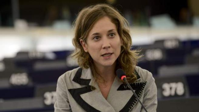 La eurodiputada de IU Marina Albiol.