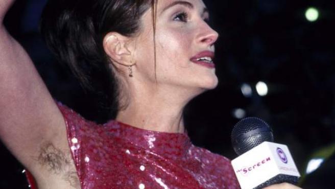 La actriz Julia Roberts en la premier en Londres de 'Notting Hill' (1999).