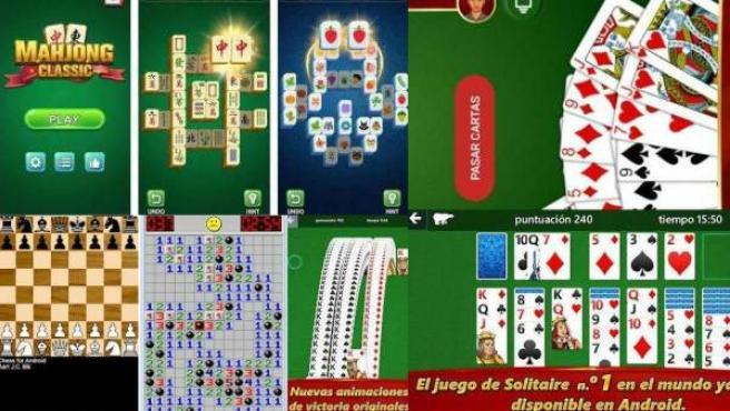 Las versiones para móvil de los juegos clásicos de Windows.
