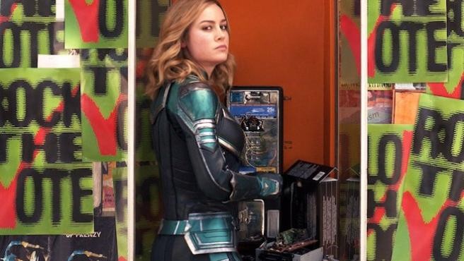 'Capitana Marvel': Brie Larson le pone las pilas a la democracia en EE UU