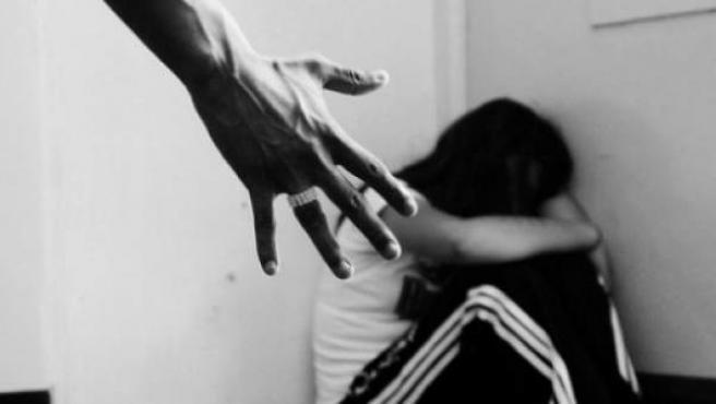 <p>Una imagen de violencia doméstica.</p>