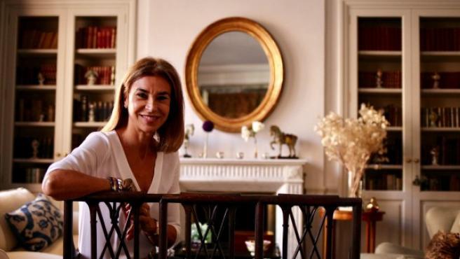 Carmen Posadas, durante su entrevista con 20minutos.