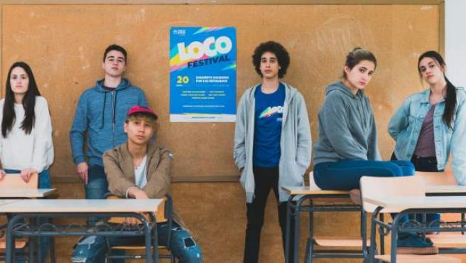 El ACNUR Loco Festival es el primer festival solidario organizado por los alumnos para ayudar a las personas refugiadas.