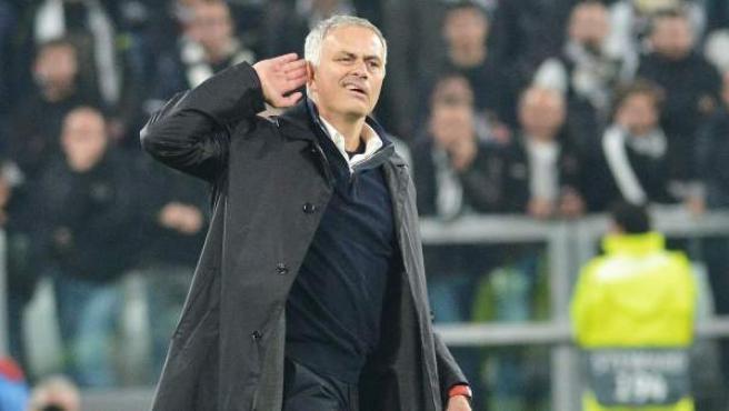 Mourinho y su respuesta a los insultos de la grada