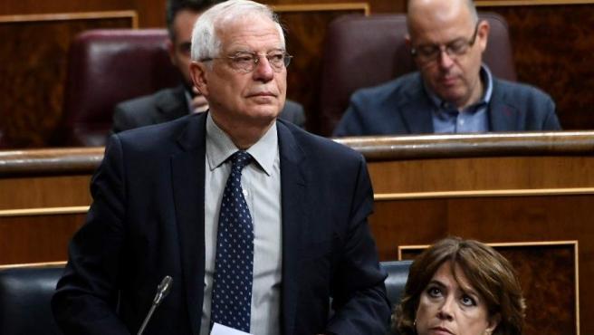 José Borrell en el Congreso en una imagen de archivo.