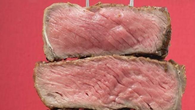 Imagen de varias porciones de carne.