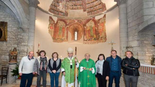 Presentación de las pinturas murales de la iglesia de San Martín de Artaiz