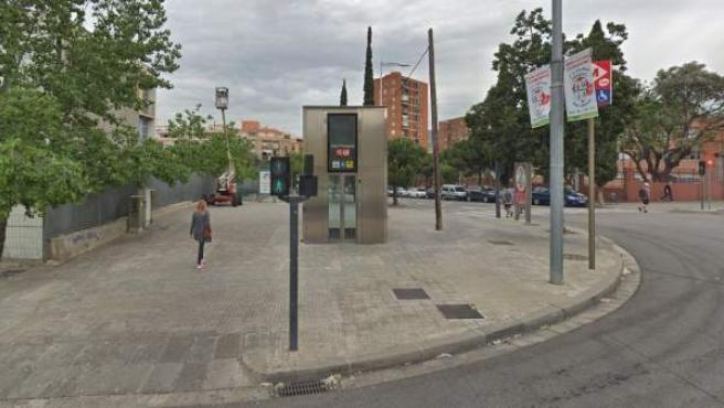Estación de Metro de Can Peixauet, en Santa Coloma de Gramenet.