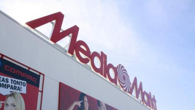 Imagen de archivo de una tienda Media Markt.