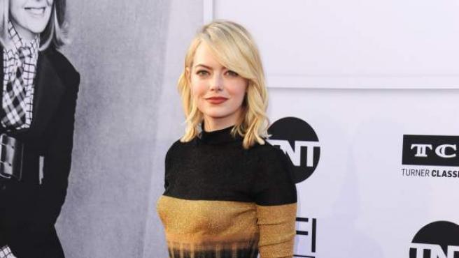 La actriz Emma Stone.