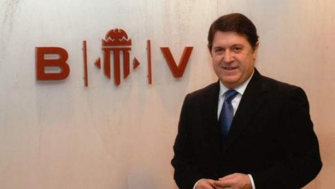 El expresidente de Bancaja, de Banco de Valencia y de la Generalitat, José Luis Olivas.