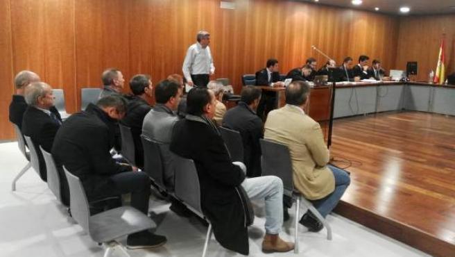Julián Muñoz y otros en juicio Copasur