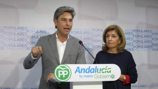 Andrés Lorite y María Jesús Botella