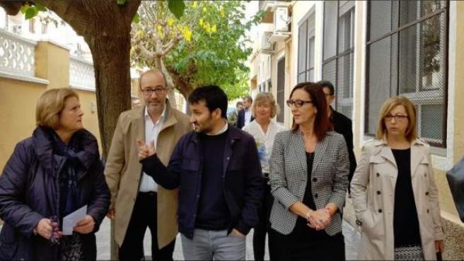 Vicent Marzà y Maria Jozep Amigó visitan Alzira