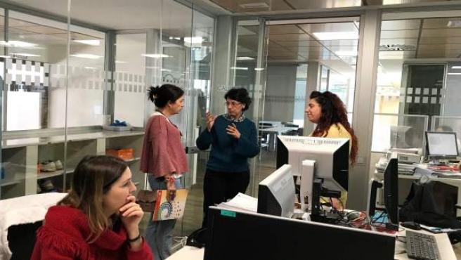 Diputación convoca diez becas de formación en Carrefour del Plan HEBE.