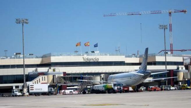 Aeroport de València.
