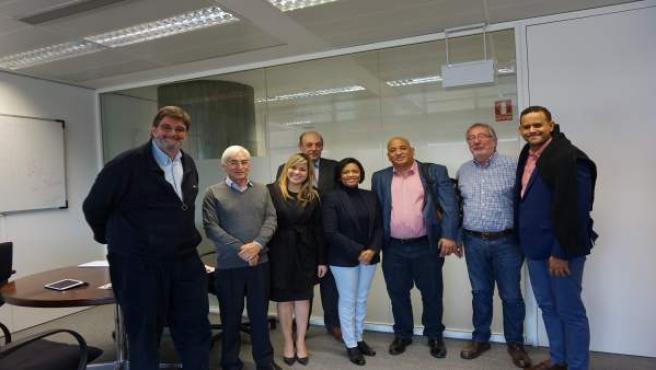 Visita de la delegación de la República Dominicana.
