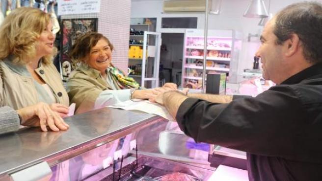 La número tres por el PP de Huelva, Carmen Céspedes.