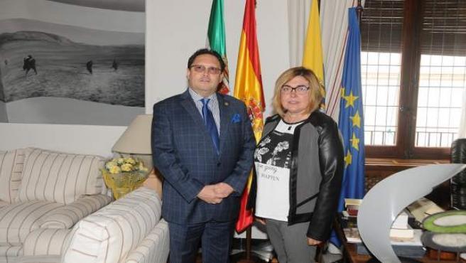 [Grupoextremadura] Visita Ministro Turismo Ecuador Presidenta Diputación Cáceres