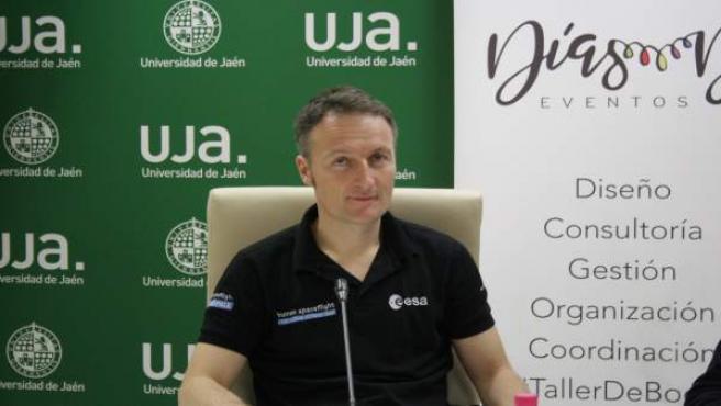 El astronauta Mattias Maurer