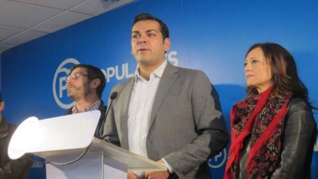 Juan Diego Requena, en la rueda de prensa de este lunes.