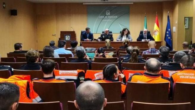 Delegada de la Junta en Sevilla en una sesión formativa sobre trata de personas