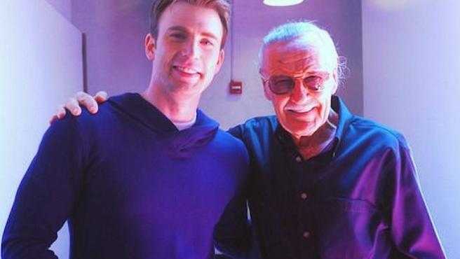 """""""Nunca habrá otro como él"""": Chris Evans se despide de Stan Lee"""