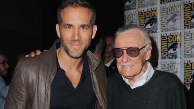 """""""Gracias por todo"""": Ryan Reynolds se despide de Stan Lee"""