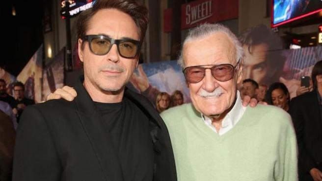 """""""Te lo debo todo"""": Robert Downey Jr. dice adiós a Stan Lee"""