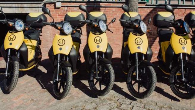 Motocicletas de alquiler.