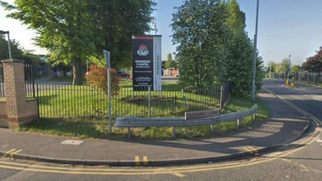 Imagen de Google Maps de Winners' Chapel, en Dartford (Reino Unido).