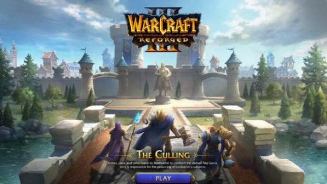 Una captura de pantalla de 'Warcraft 3: Reforged'.