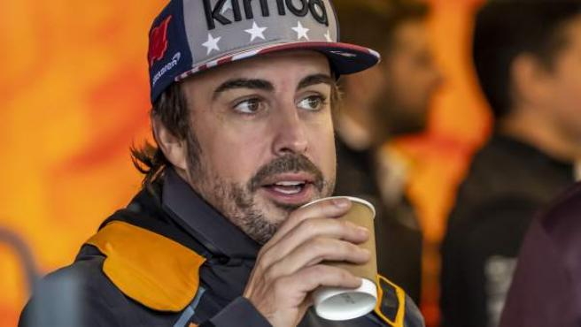 El piloto de McLaren Fernando Alonso.