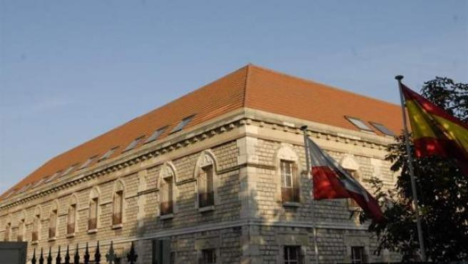 Sede de la Audiencia Provincial de Cantabria, en Santander.