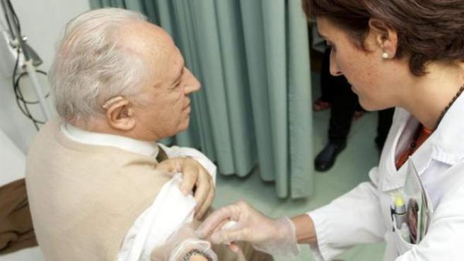 Imagen de archivo. Vacuna contra la Gripe