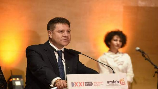 Page en Albacete, gala de Amiab