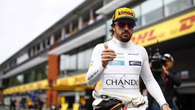 Fernando Alonso, piloto de McLaren.