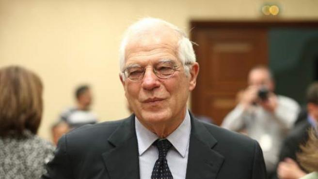 El ministro de Asuntos Exteriores Josep Borrel.