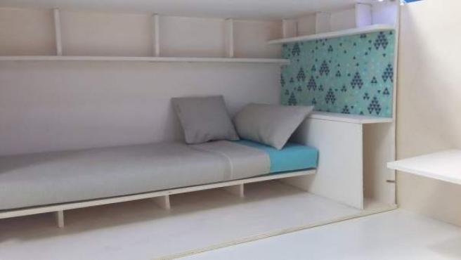 Un proyecto de 'piso colmena' de la empresa Haibu 4.0.