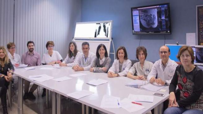 Equipo de la Unidad de Multidisciplinar de Cáncer Ginecológico