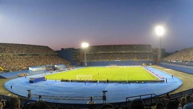 Estadio Maksimir de Croacia.